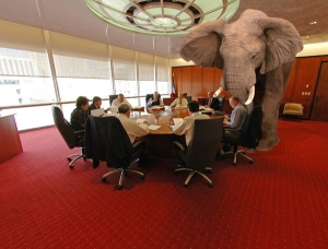 Meaning Of A White Elephant In The Room