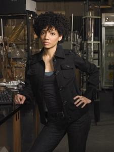Jasika Nicole plays a linguist on TV.