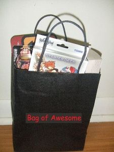 Bag of awesomeness? No way!