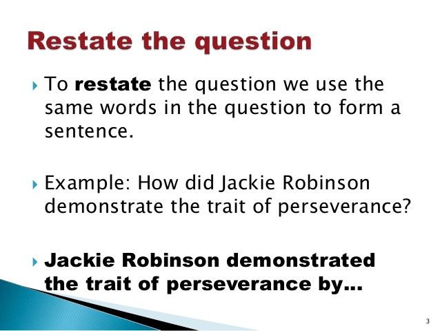 Answers Must Be in the Form of a Cleft LiteralMinded – Restating the Question Worksheets